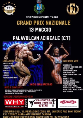 Gran Prix Nazionale 13 Maggio, Palavolcan Acireale (CT)