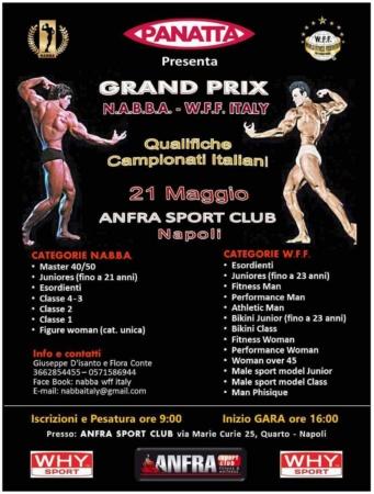 Grand Prix 21 Maggio, Anfra Sport Club, Napoli